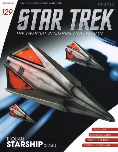 miniatura star trek 129 tholian starship 2268 bonellihq i19