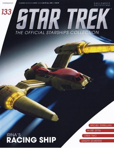 miniatura star trek 133 irina's racing ship - bonellihq l18