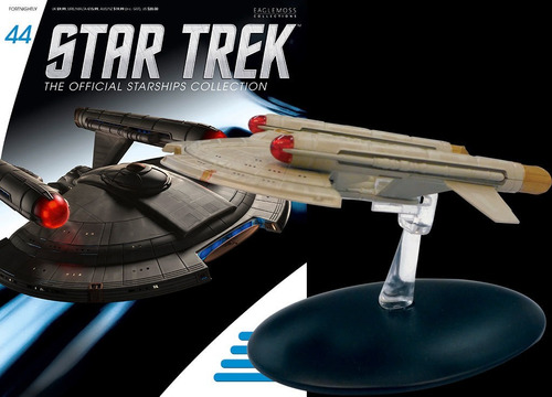miniatura star trek 44 - intrepid - bonellihq l19