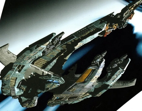 miniatura star trek 69 breen warship - bonellihq l19