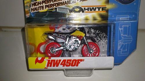 miniatura team hot wheels hw 450f - mattel