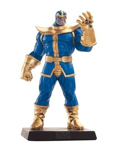 miniatura thanos - ed especial marvel figurines eaglemoss
