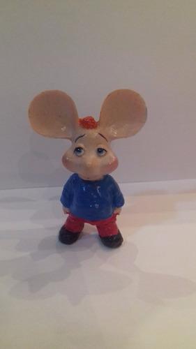 miniatura topo gigio em resina 7 cm - bonellihq d19
