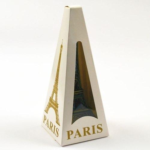 miniatura torre eiffel paris 32 cm metal decoração natal