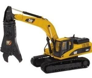miniatura trator escavadeira 336dl cat- 55283 - 1:50 norscot