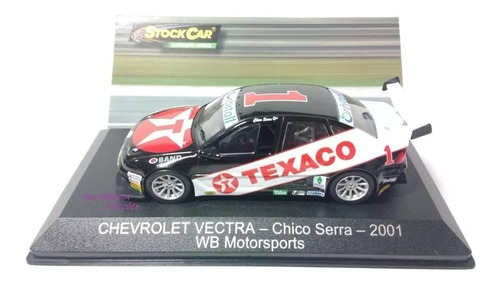 miniatura vectra chico serra 2001 stock car ed 21 agostini