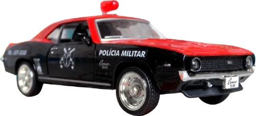 miniatura viatura polícia militar pm sp camaro - anos 70