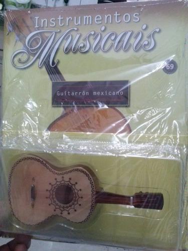 miniatura violão guitarra mexicana guitarron mexicano salvat