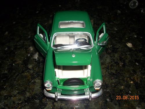 miniatura volkswagen 1600 fastback variante esc. 1:24