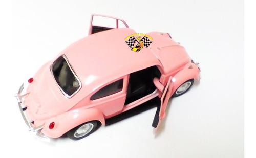 miniatura volkswagen fusca 1967 escala 1:32
