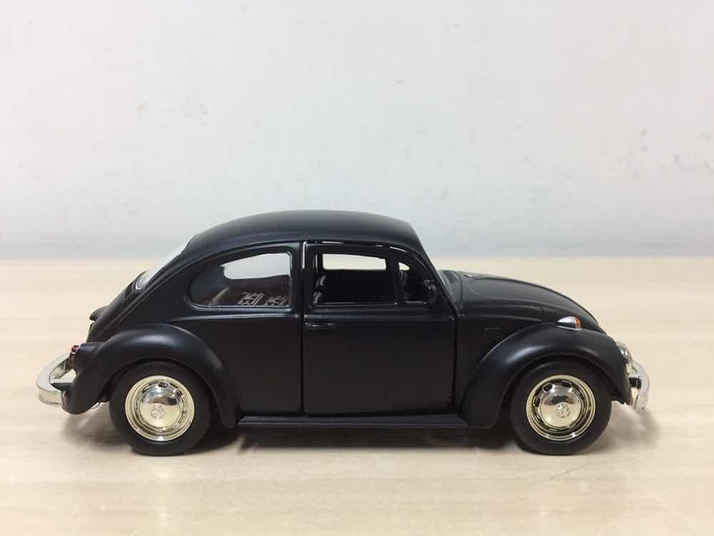 580d47cd39 miniatura volkswagen fusca 1971 preto fosco 13cm em metal ! Carregando zoom.