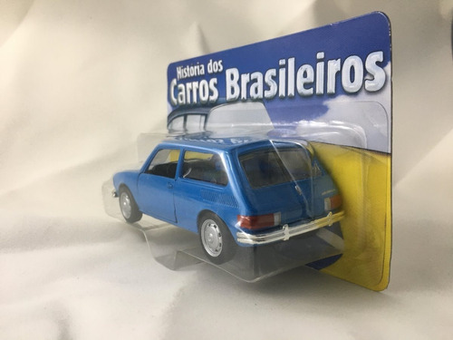miniatura vw brasília de coleção lacrada