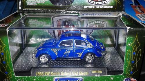 miniatura vw fusca 1953 chase m2 machines walmart chase !!!