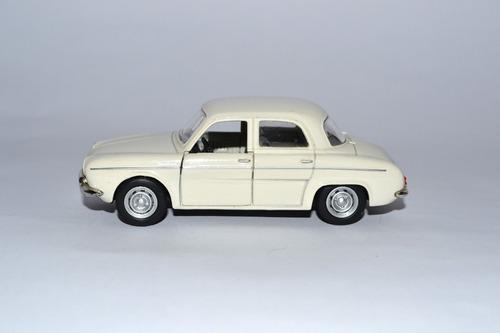 miniatura willys dauphine gordini 1:43 história carros br