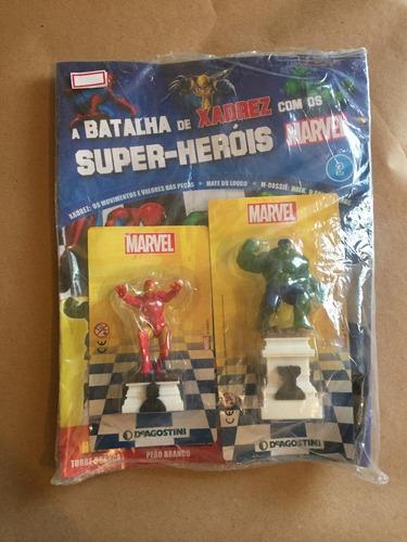 miniatura xadrez marvel 2 hulk homem de ferro bonellihq l18