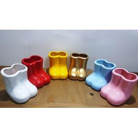f0996ff24a9 Vaso Bota Galocha Ceramica - Decoração no Mercado Livre Brasil