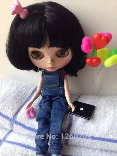 miniaturas balão para blythe pullip  kit com 2 unidades doll