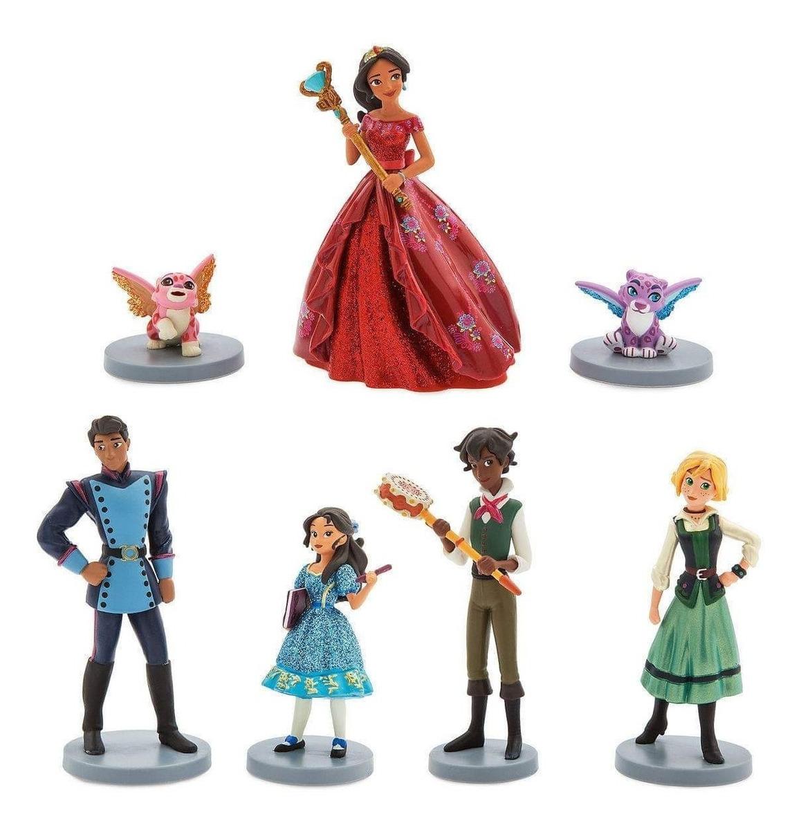 Miniaturas Boneco Elena De Avalor Isabel Disney Store R 129 00