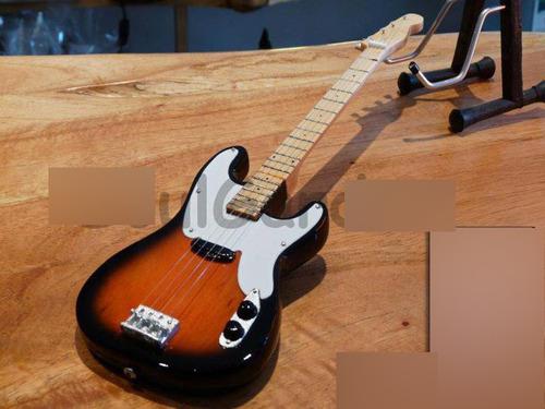 miniaturas coleccionables - guitarras y bajos - exclusivos!