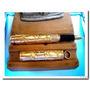 Lapicera Antigua Caneta Tinteiro Pluma Oro 14k Tipo Parker