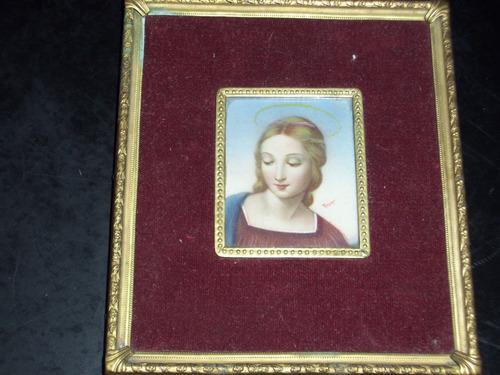 miniaturas marfilinas pintadas a mano