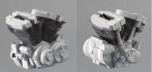 miniaturas papel modelismo moto mt1 ultra real