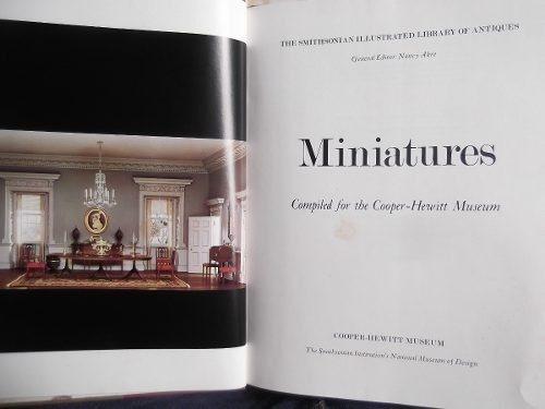 miniatures smithsonian museum of antiques ingles tapa dura