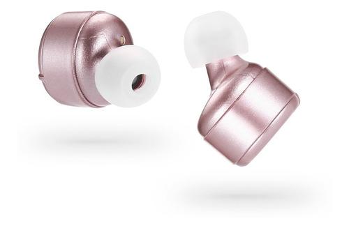miniauriculares intraurales x2t inalámbricos bluetooth rosa