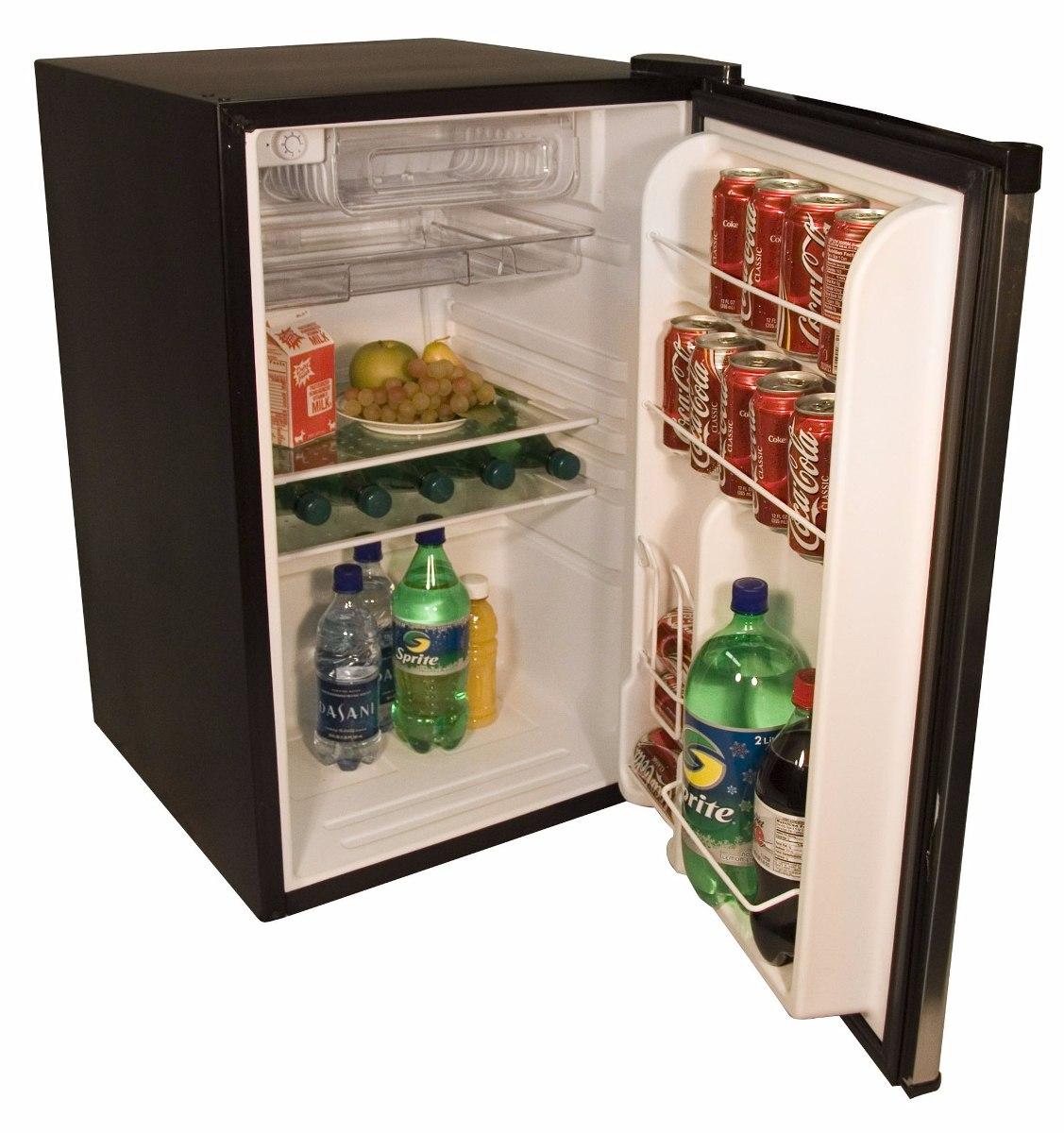 Minibar Frigobar Haier 4 6p Acero Inox Refrigerador 2