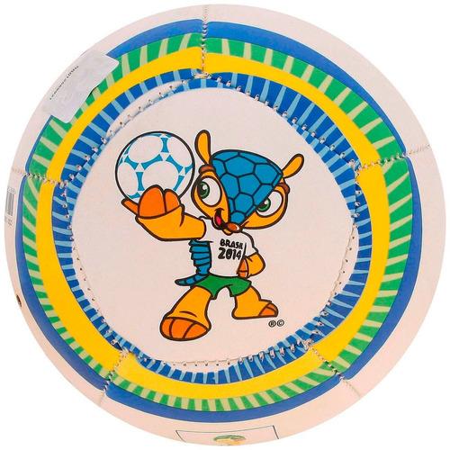 Minibola De Futebol De Campo Copa Fifa Fuleco L16 Infantil - R  9 21115c3a88a25