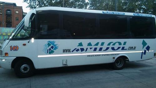 minibus 24 asientos iveco-carroc tecnoporte 2007 motor ok
