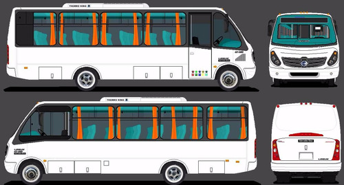 minibus 24 pasajeros - adquiera su minibus 100% financiado