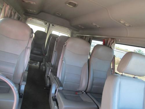 minibus jac sunray 13 pasajeros año 2017 impecable
