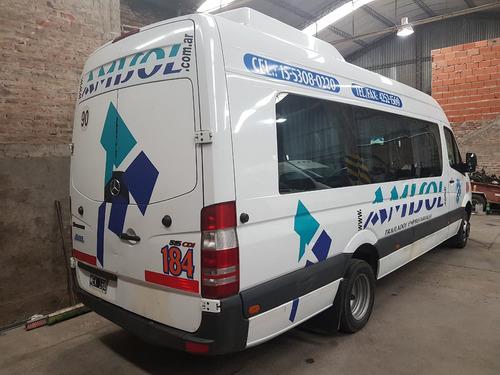 minibus sprinter  19 +1 mod 2013 único titular de 11 a 17 h
