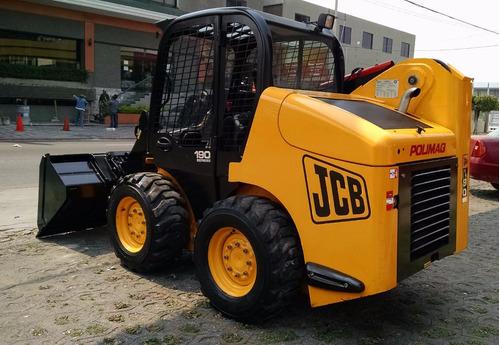minicargador bobcat marca jcb 190 robot