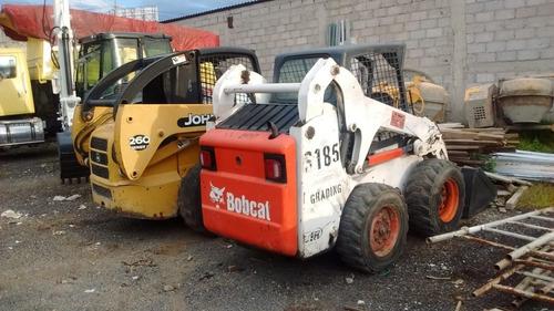 minicargador bobcat s185 con kit para martillo año 2006