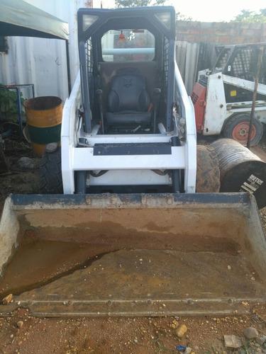 minicargador  bobcat s185 - s175 y brazo excavador