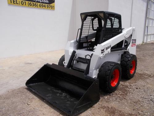 minicargador bobcat s220 auxiliar hidraulico