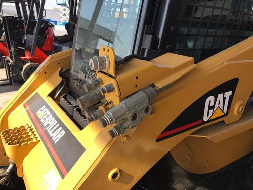 minicargador caterpillar 248b  modelo 2009 como nuevo