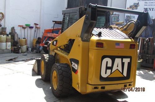 minicargador caterpillar 252b 2008 encavinado $420.000 nuevo