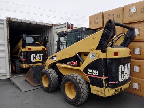 minicargador caterpillar cat 252b importado usa