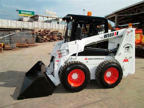 minicargador forway gato ws60 turbo 900 kg motorman