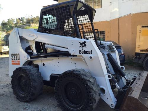 minicargador frontal bobcat s220