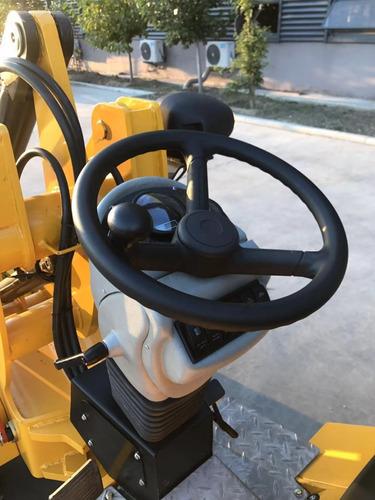minicargadora articulada jmv h180 - nueva - con accesorios