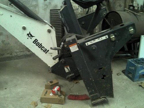 minicargadora bobcat s175 con martillo y retro!!!