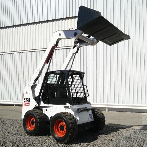 minicargadora bobcat s220 (usada)