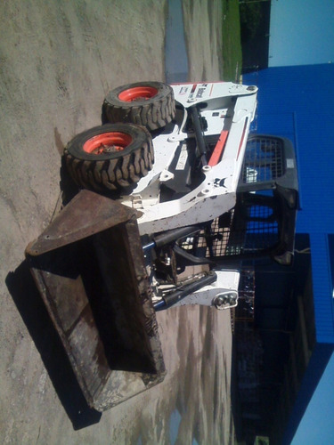 minicargadora bobcat s630 hs 2090 2011 balde / martillo