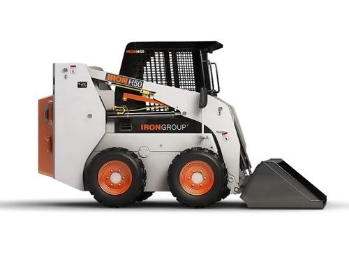 minicargadora iron h50