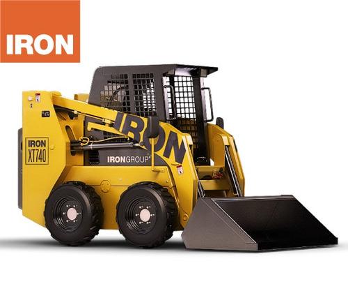 minicargadora iron xt740 - 0km -- ¡oferta contado!
