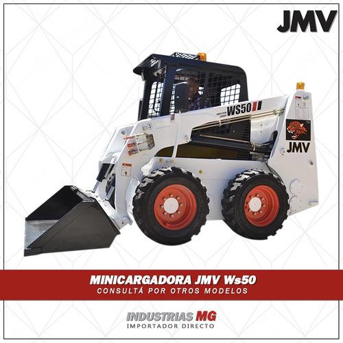 minicargadora jmv ws50 - tipo bobcat - nueva el mejor precio